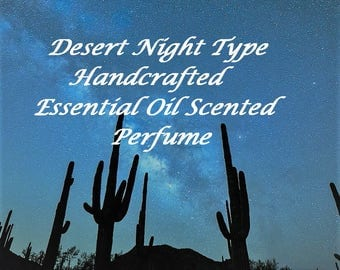 Essential oil perfume, Desert Night Type Scent, Essential Oil Fragrance, Roll on Fragrance, Roll On Perfume, All natural perfume, Perfume
