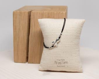 925 silver bracelet with fish Koi