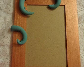 Teal/Copper Tentacle Photo Frame