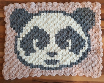 Babyblanket with Panda super soft and warm!