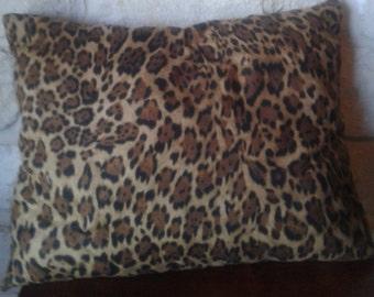 Leopard Throw Pillows - Animal Print Throw Pillows - Decorative Pillows for Couch - Decorative Pillows - Ready to Ship