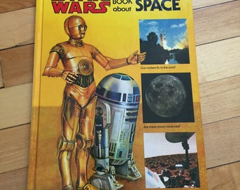 Vintage 1979 The Star Wars Question and Answer Book About Space Hardcover Children's Book!