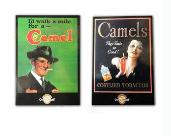 Camel Cigarettes 1930-1993 Postcard Lot of 2
