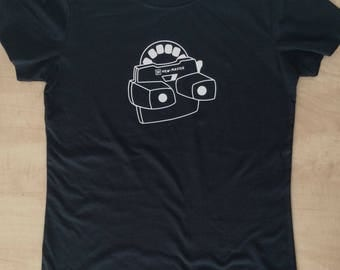 Retro view master shirt, 80's shirt