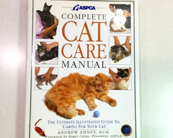 Vintage Cat Book The Complete Cat Care Manual