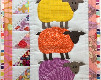 Kit: Jelly Beans Mini Quilt