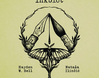 Inkblót ~ book. Illustration and poetry collaboration