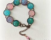MULTICOLOR ROCK CANDY Bracelet, Adjustable