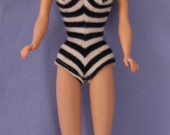 Vintage Ponytail Barbie Doll #5, Ash Blonde, EXC+