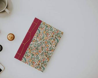 GUEST BOOK / Coptic Journal A5 / Diary Varese A5 / Notebook Pink / Guestbook Coptic