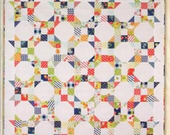 Mini Chicken Feed Quilt Pattern, Mini Quilt Pattern, Miss Rosie's Quilt Co., Schnibbles Mini Quilt, Scrap Quilt Pattern, RQC 479