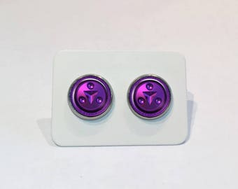 Stainless Stud Earrings Shadow Medallion The Legend of Zelda: Ocarina of Time