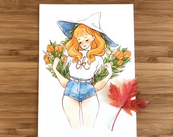 Ok Small Art Print
