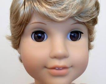 Kemper Tyler Blond - Boy doll wig size 10-11