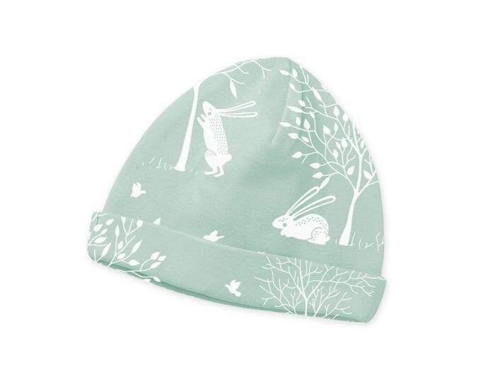 Easter Newborn Baby Hat, Newborn Green Bunny Baby Hat, Baby Hat for Girls, Baby Boy Beanies, Baby Girl Beanies Tesababe CP630BF00000