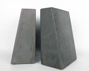 Gallery Of Modern Concrete Bookends Heavy Bookends Kitchen Book Ends Cement Bookend  Decorative Bookends With Kitchen Bookends