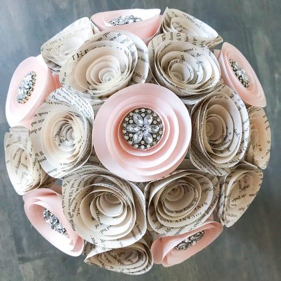 Brooch Bouquet - - Bridal Flowers - Wedding Bouquet Alternative ...