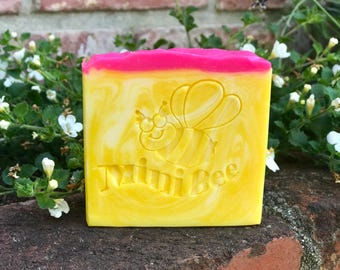 PLUMERIA Shea Butter Soap, Handmade Soap, Cold Process Soap, Moisturizing