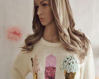 "Human hair clip in wig, extension, U part ""Glamour"" range hair addition, ash brown bleach blonde, 18 inches long, small cap"