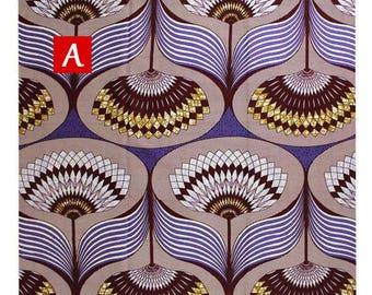 Modern African Print Fabric - Ankara Fabric - By The Yard