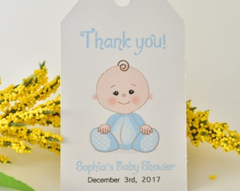 Baby Shower FAVOR TAGS, Baby Shower favors, Baby shower tags boy, baby shower decorations, Baby shower tags for favors,set of 10 tags