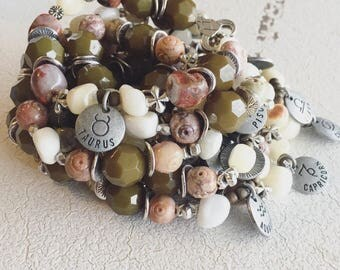 Zodiac Stretchy Bracelets