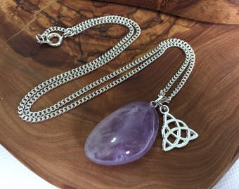 Witches Protection Amulet - Celtic Boho Witch Witchcraft Wicca Pagan Hippy Hippie Goth Gothic Fantasy Crystal Gemstone Healing Magic Magical