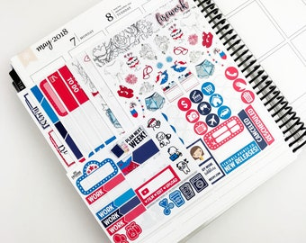 Firework // Ultimate Weekly Planner Kit (Glossy Planner Stickers)