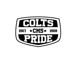 CMS Colts pride Hoodie
