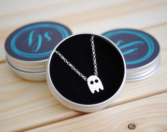 Sterling Silver Ghostie Necklace