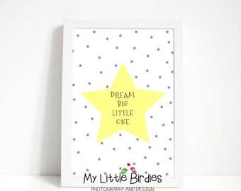 Dream Big Little One - Yellow