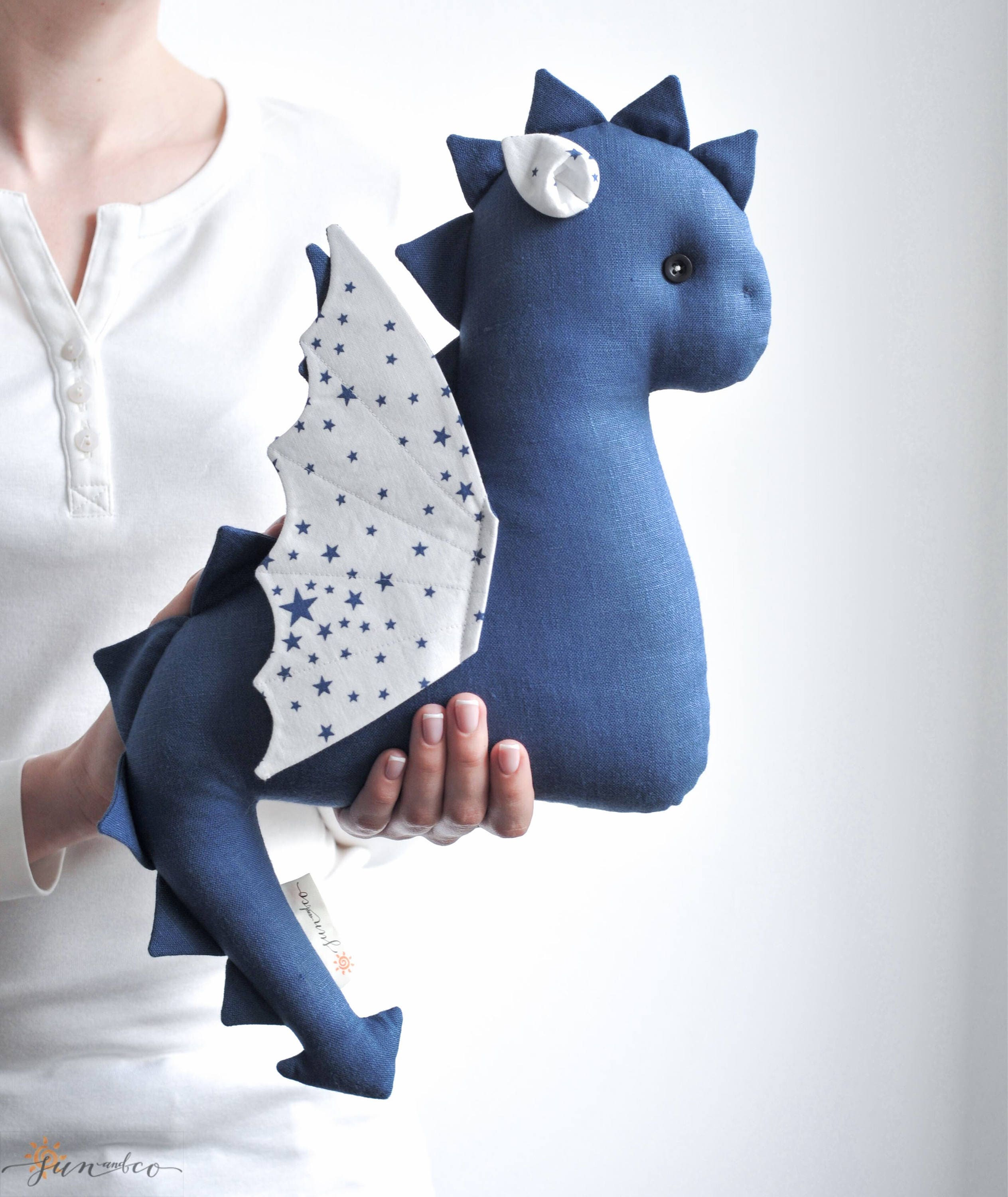 baby dragon stuffed dragon toy gift for kids stuffed toy. Black Bedroom Furniture Sets. Home Design Ideas