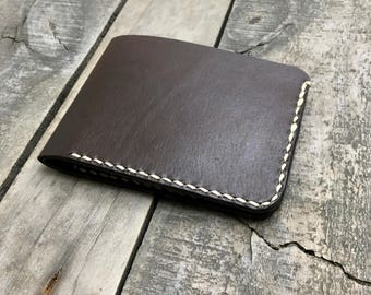 Mens Bifold Leather Wallet, Mans Leather Bifold, Mens Leather Wallet, Classic Leather Wallet, Kangaroo Leather Wallet, Leather Billfold