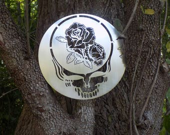 It Must Have Been The Roses Metal Art