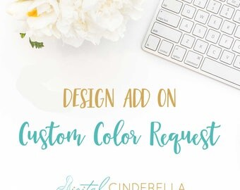 Customize My Print | Color Change Request | Custom Wall Art