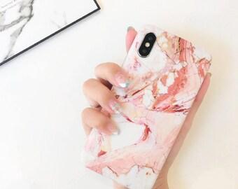Marble case.iPhone X case.iPhone 10 case.Marble iPhone X case.Soft iPhone X case.Rubber iPhone X case.iPhone case.Stone case.Agate Stone