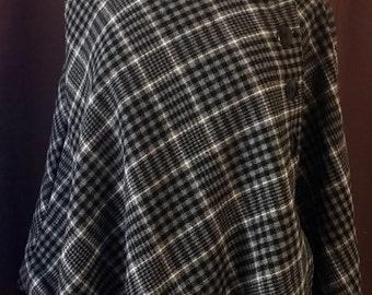 Classy wool cape