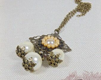 "Renaissance Necklace ""Lady Gisella"""