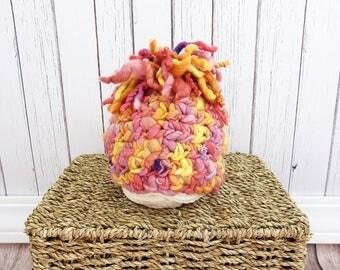 Newborn Photography Prop Hat, Handmade, Hand-dyed Wool Baby Hat