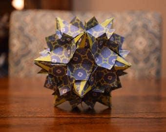 Origami Wood Nymph Kusudama