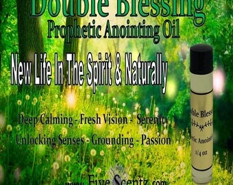 Double Blessing Prophetic Anointing Oil