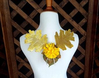 Golden Woodland Fairy Wings