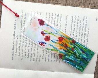 Flower bookmark Birthday gift Bookmark flower Floral bookmark Unique bookmark Handmade bookmark Flower art Mother's day gift Book lover gift