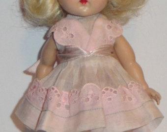 Vintage Ginny Doll in Original Tagged Outfit Marked Ginny Shoes