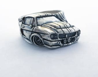 SHELBY GT 500 ELEANOR - Ring - Sterling Silver 925
