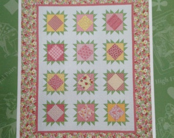 Dealers Choice quilt book, autographed quilt book, Terry Atkinson, Dealers Choice Quilt, Queen of Diamonds Quilt, Table Talk Runner