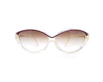 Genuine 1980s Alain Mikli A.M. 0105 820 Vintage Cateye Sunglasses // Hand Made in France // New Old Stock