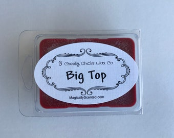 Big Top Wax Melts, Disney Inspired Scent, Home Fragrance