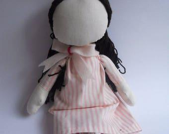 Muslim doll ,faceless doll,rag doll,gift,EID,Ramadan,muslimah,islam toy,fabric doll,modest doll, FREE GIFT,cloth doll