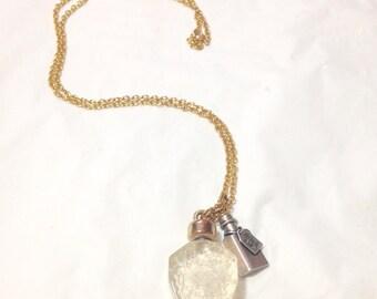 Alice in Wonderland Inspired Drink Me Necklace